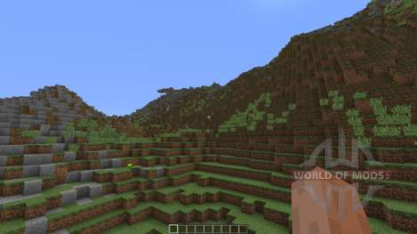 Mountains of Baize для Minecraft