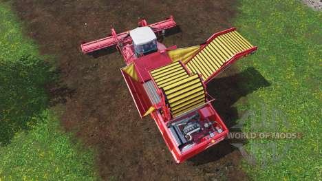 Grimme Tectron 415 [onion and carrot] для Farming Simulator 2015
