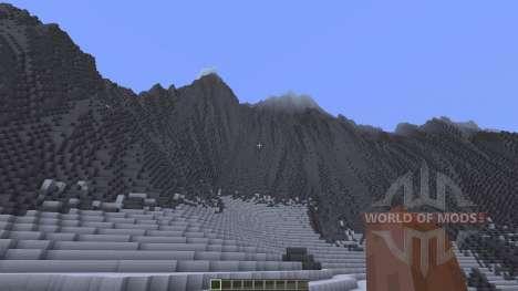 Glacier Valley для Minecraft