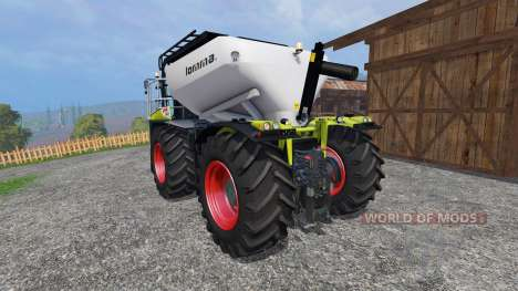 CLAAS Xerion 4000 SaddleTrac для Farming Simulator 2015