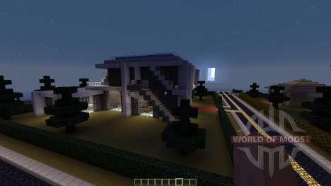Village of Modern Houses для Minecraft