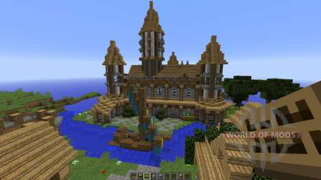 The Town of Noxhen для Minecraft