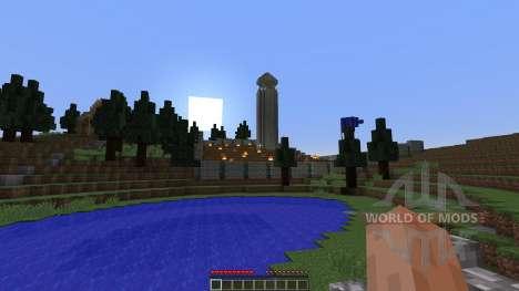 The 1000 Meter War для Minecraft