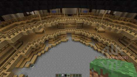 Shakespeares Globe Theatre in London для Minecraft