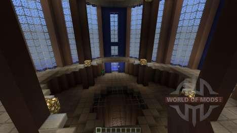 Unreal Tournament 1999 PvP DM-Fractal для Minecraft