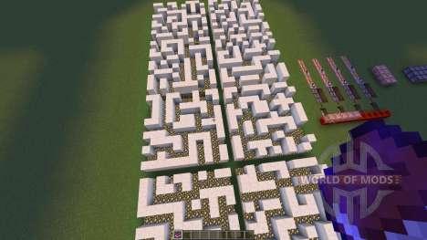 The Infinite Maze для Minecraft