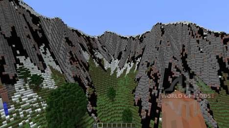 Super Realistic Mountainzzz для Minecraft