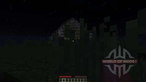 Darkness Dome Plains Version для Minecraft