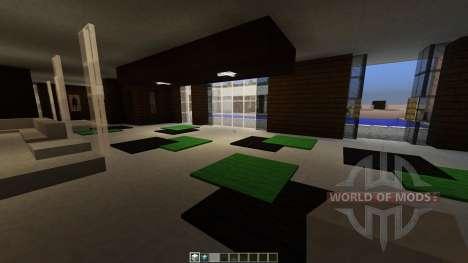 Modern House для Minecraft