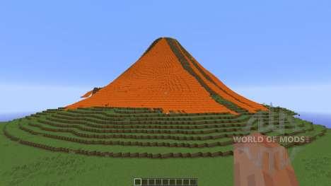 Volcano World для Minecraft