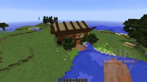 Asian Style Home для Minecraft