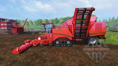 Grimme Maxtron 620 v1.0 для Farming Simulator 2015