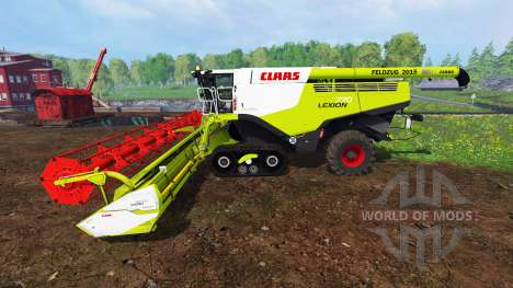CLAAS Lexion 770TT для Farming Simulator 2015