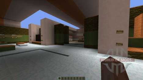 Juice Ultramodern House для Minecraft