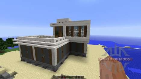 Prebuilt House для Minecraft