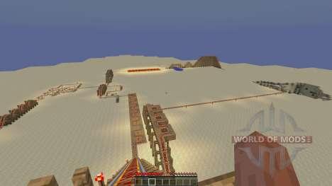 MegaRollerCoaster для Minecraft