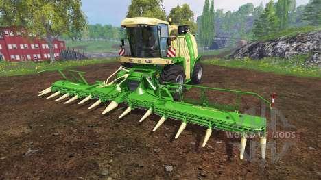 Krone Big X 1100 [beast] v12.0 для Farming Simulator 2015