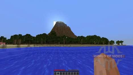 Berg Bol Island-Survival Map для Minecraft