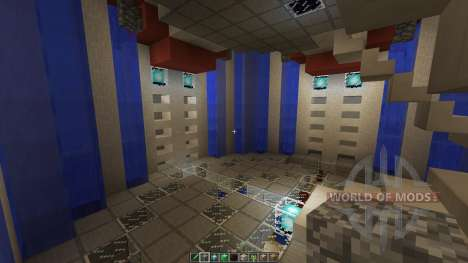 Dyans Floating Battle Island для Minecraft