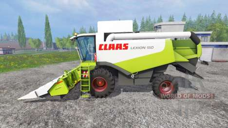 CLAAS Lexion 550 для Farming Simulator 2015