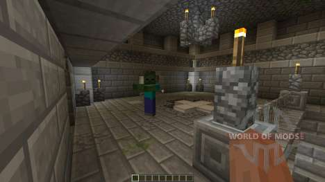 Iron Crypt для Minecraft