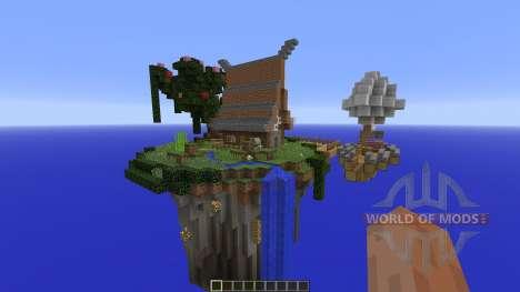 Sky Island Paradise для Minecraft