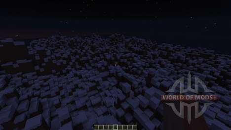 Snowy Mountain range для Minecraft