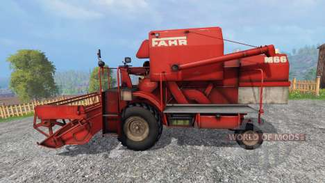 Fahr M66 для Farming Simulator 2015