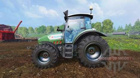 Hurlimann XM 4Ti [lime edition] для Farming Simulator 2015