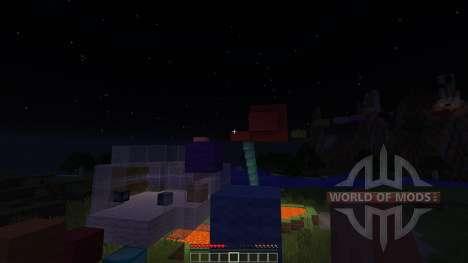 Sky land adventure map для Minecraft