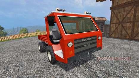 Bucher TR2400 для Farming Simulator 2015