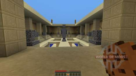 Courtyard of Death для Minecraft