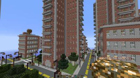 Liberty Craft City для Minecraft