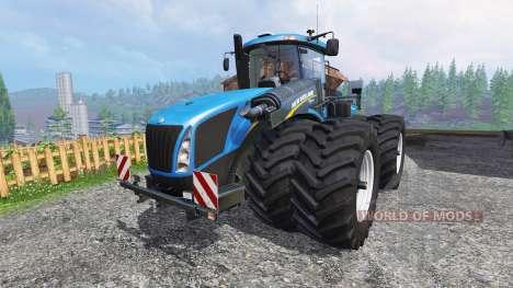 New Holland T9.560 DuelWheel v2.5 для Farming Simulator 2015