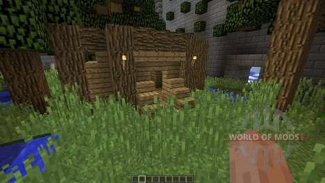 BiomeShift для Minecraft