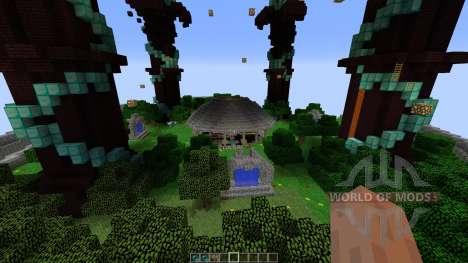DRAGON THEMED MAJESTIC HUB для Minecraft