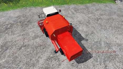 Bizon Z058 v1.1 для Farming Simulator 2015