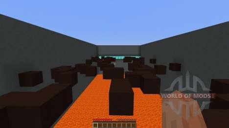 Lava Parkour для Minecraft