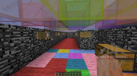 Single player spleef для Minecraft