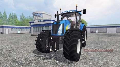 New Holland T8020 v4.5 для Farming Simulator 2015