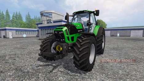 Deutz-Fahr Agrotron 7250 TTV v3.5 для Farming Simulator 2015