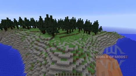 Pine Forest для Minecraft