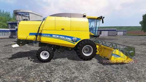 New Holland TC5.90 [pack] v1.3 для Farming Simulator 2015