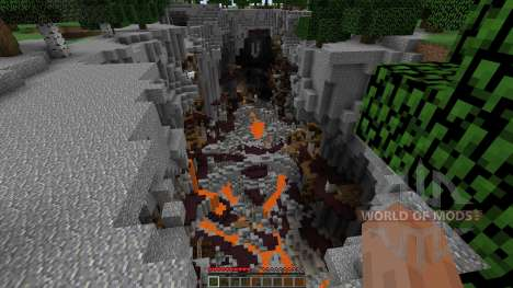 Orc Mines для Minecraft