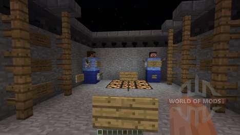 Trench War minigame для Minecraft