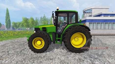 John Deere 6330 Premium FL для Farming Simulator 2015