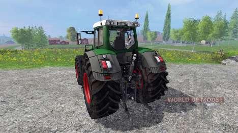 Fendt 924 Vario v3.1 для Farming Simulator 2015