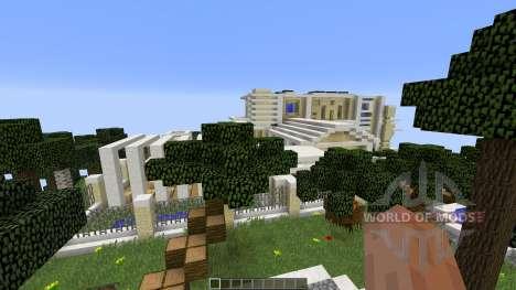 Modern Island Mansion для Minecraft