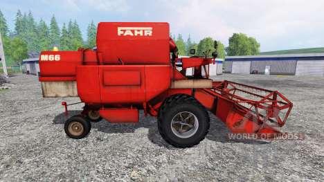 Fahr M66 [twinwheels] для Farming Simulator 2015