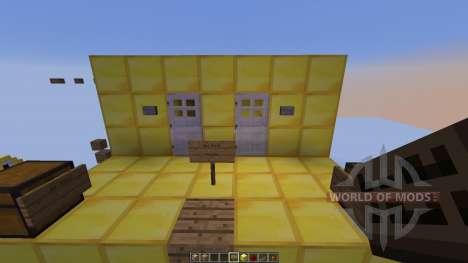 Skymine Parkour для Minecraft